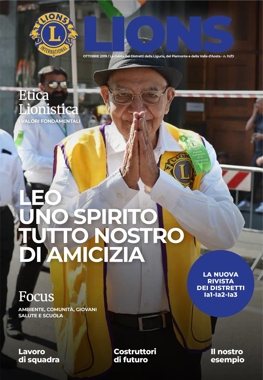 Leo Uno Spirito Tutto Nostro Di Amicizia